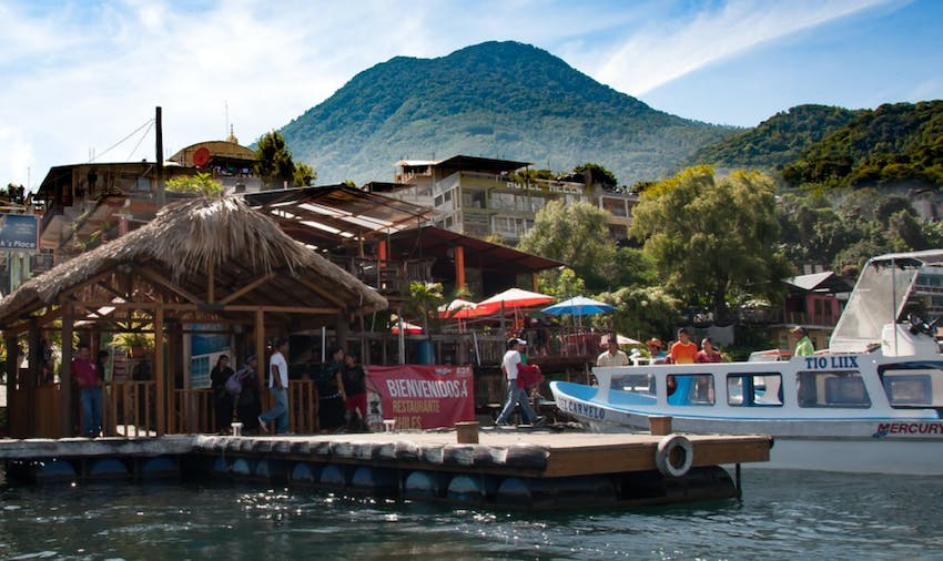 When you volunteer in Guatemala explore Lake Atitlan in your weekends