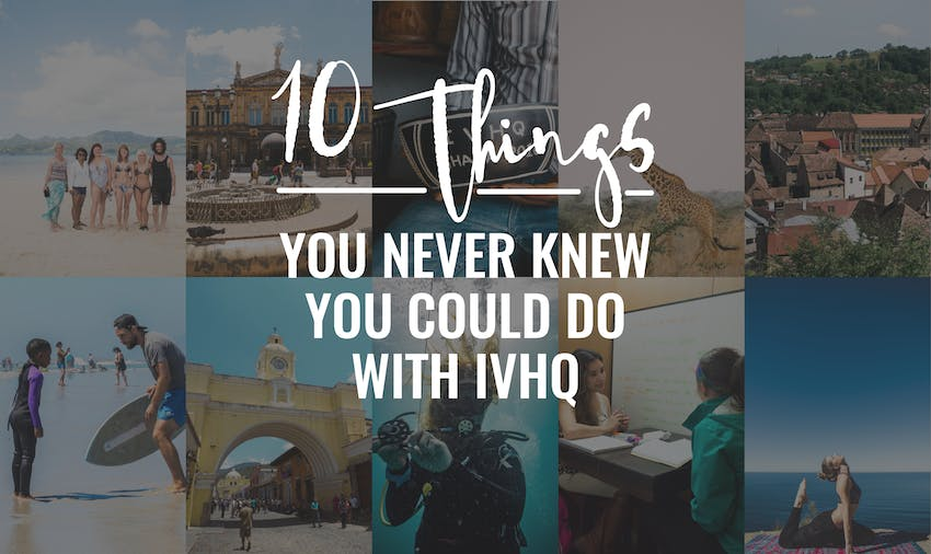 Ten things you never knew you could do with IVHQ