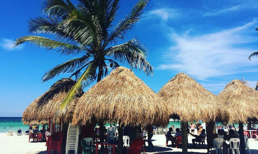 As a volunteer in Mexico you can explore Progresso Beach in your afternoons