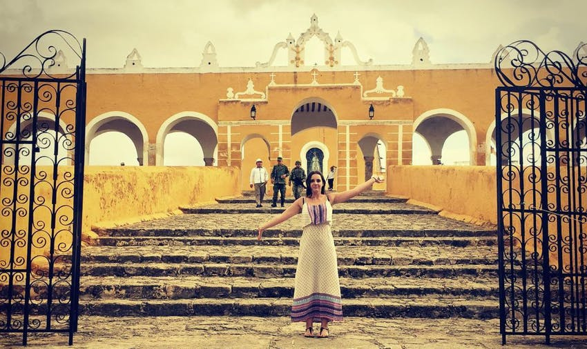 Explore the yellow city of Izamal