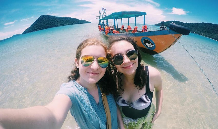 Visit Bamboo Island during an IVHQ weekend in Cambodia
