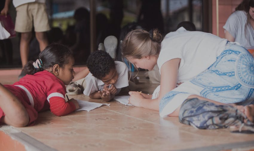 Volunteer as a teacher on your gap year with IVHQ