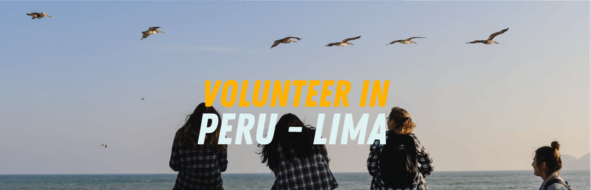 2018 volunteer abroad programs: volunteer in Peru - Lima