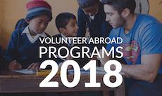 2018 Volunteer Abroad Destinations + Best Programs & Projects