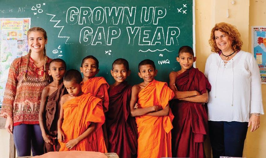 Volunteer programs for grown ups