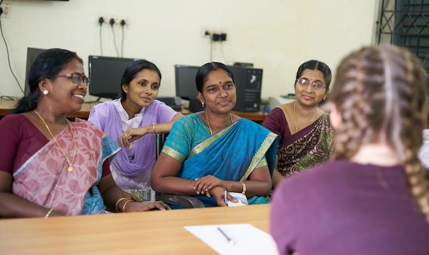 Volunteer work in in India