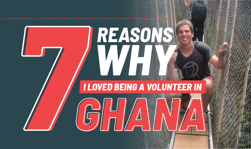Volunteer in Ghana review