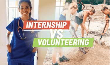 Internship Abroad vs Volunteering Abroad the ultimate guide