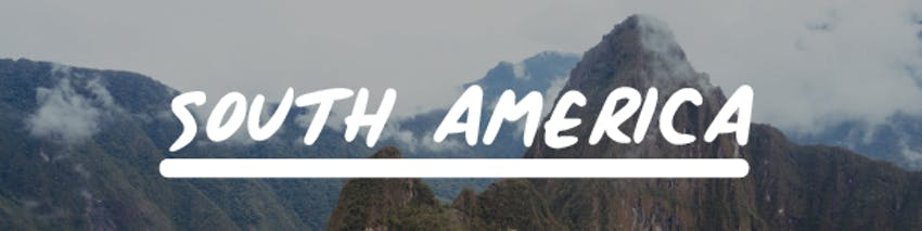 Volunteer holidays abroad South America