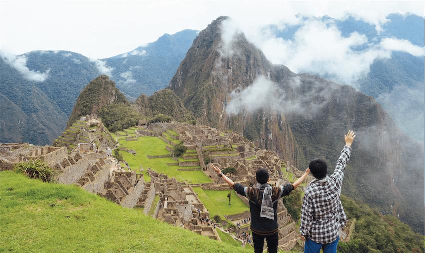 Adventure holiday abroad climbing Machu Picchu with IVHQ
