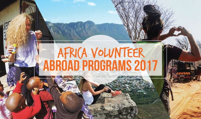 Volunteer in Africa with IVHQ in 2017