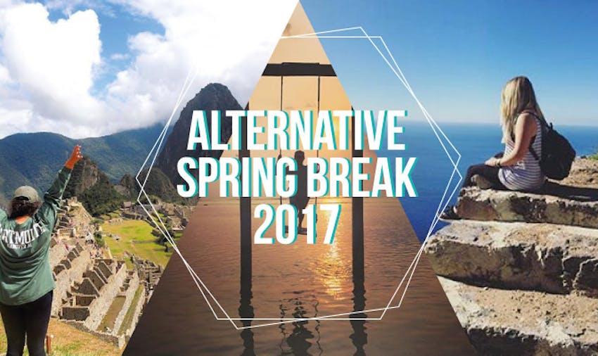 Alternative Spring Break 2018  Programs