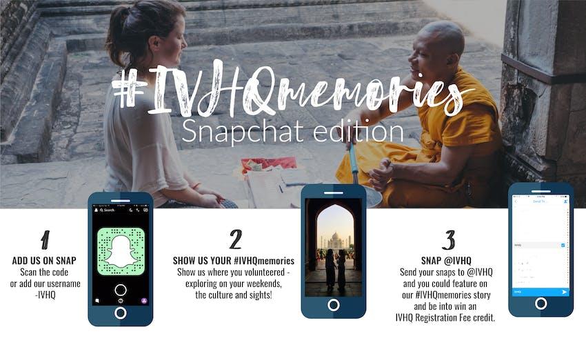 Send IVHQ your Snapchats