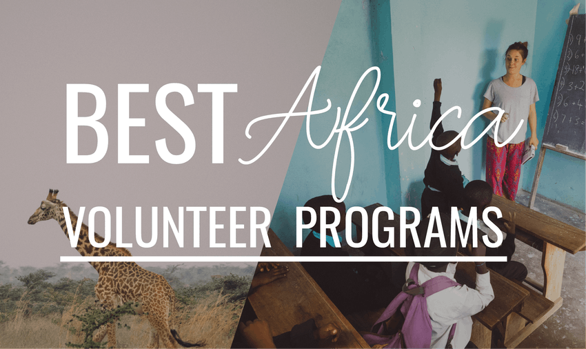 Volunteer in Africa with IVHQ in 2019
