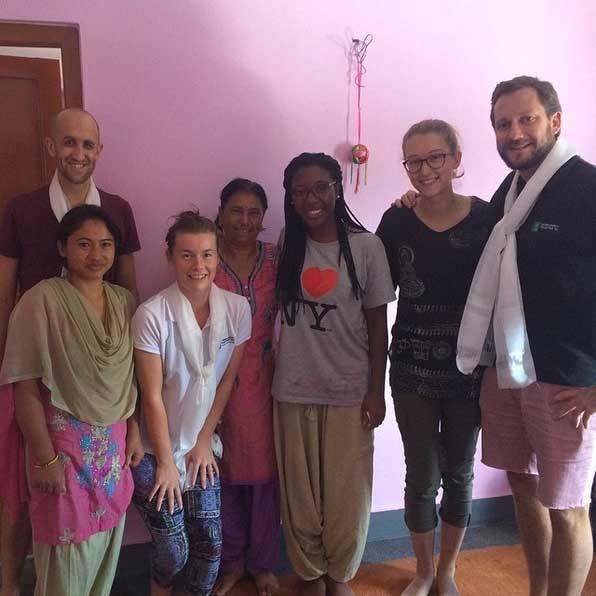 IVHQ's Ben, Ashlee and Dan meet IVHQ volunteers in Nepal