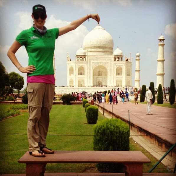 IVHQ's Katie visits the Taj Mahal in India
