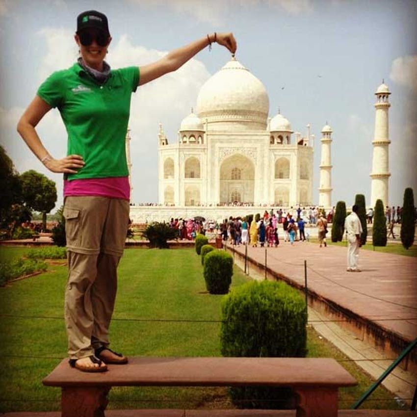 IVHQ's Katie visits the Taj Mahal in India