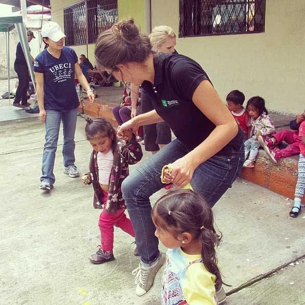 IVHQ's Lydia visits our program in Ecuador