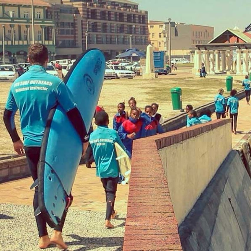 IVHQ's Surf volunteer program in South Africa