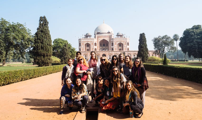 Volunteers in India - Delhi
