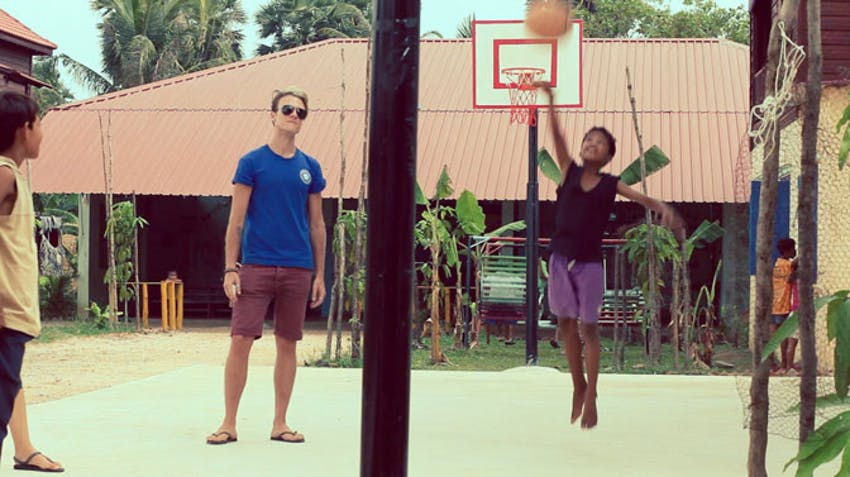 Cheap volunteer abroad program in Cambodia with IVHQ