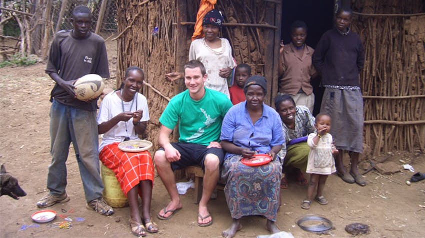 IVHQ Founder Dan Radcliffe in Kenya