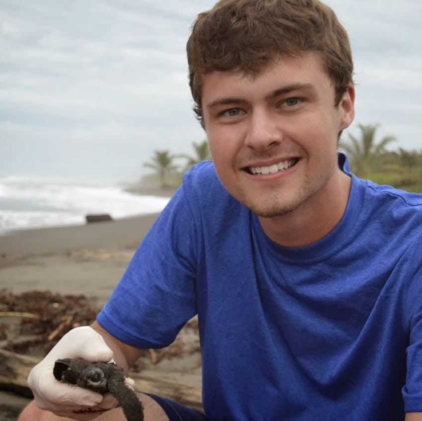 IVHQ volunteer Erik on an alternative break in Costa Rica