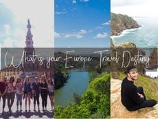 What Is Your Europe Travel Destiny For 2018