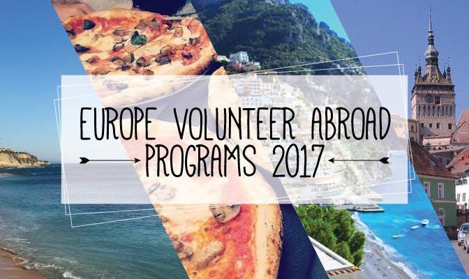 Europe Volunteer Abroad Programs 2017 - IVHQ