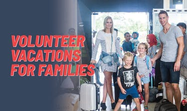 Volunteer Vacations For Families with IVHQ