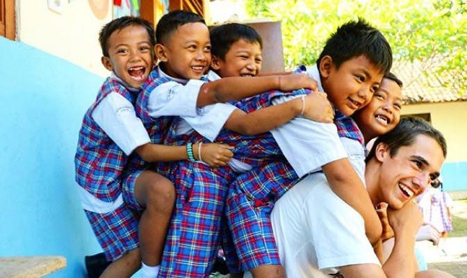 Volunteer in Bali on your gap year opportunity