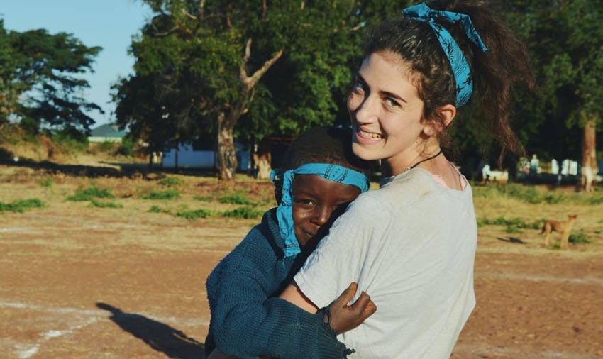 Lisa and Lara volunteered in Zambia on their gap year