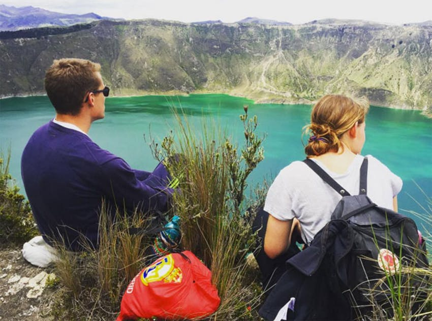 Go Au Naturale when volunteering in Ecuador with IVHQ
