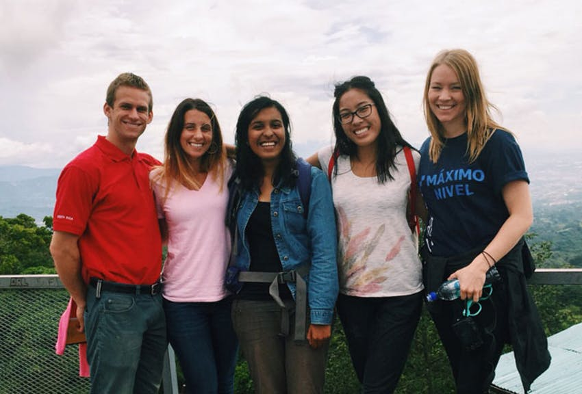 Teach and volunteer abroad winner Hannah Pitts
