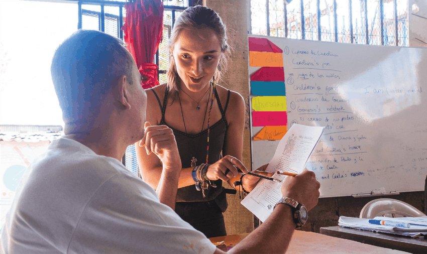 Teaching abroad with IVHQ in Costa Rica