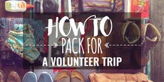 How to pack to volunteer abroad with IVHQ