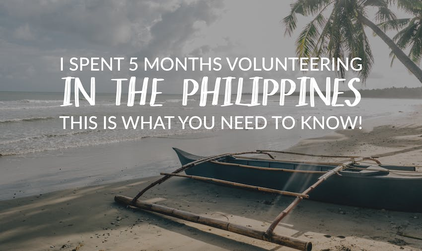 IVHQ Philippines volunteer Paola spent 5 months volunteering in the Philippines