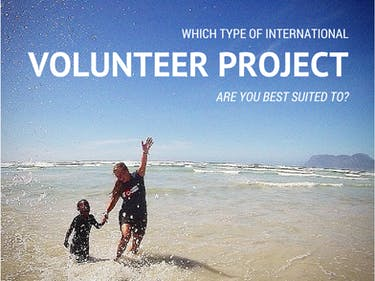 Which type of international volunteer project suits you?