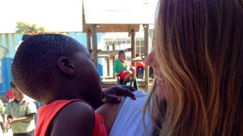 International Volunteer Breezy in South Africa