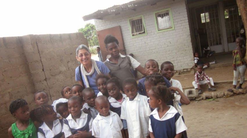 International Volunteer Susan in Zambia