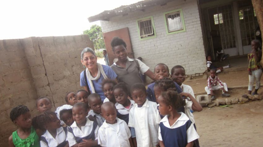 International Volunteer Susan in Zambia