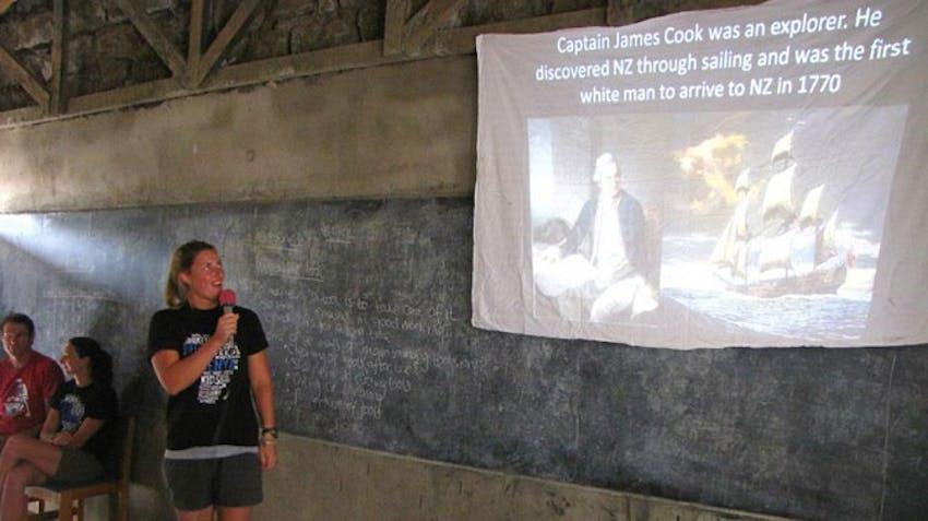 Olympic Rower, Rebecca Scown, volunteering in Kenya with IVHQ