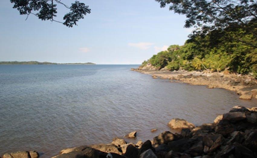The island of Nosy Komba - the location of the IVHQ Madagascar program