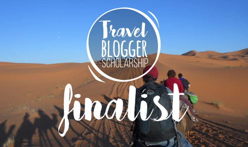 IVHQ Travel Blogger scholarship finalist George
