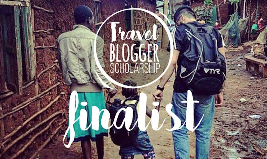 IVHQ Travel Blogger scholarship finalist Robert