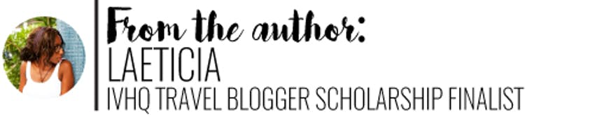 IVHQ Travel Blogger Scholarship Finalist Laeticia