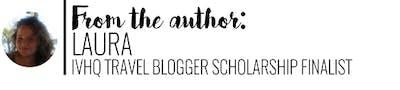 Author, Laura IVHQ Travel Blogger Scholarship
