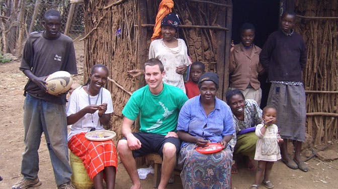 IVHQ Founder Dan in Kenya in 2006
