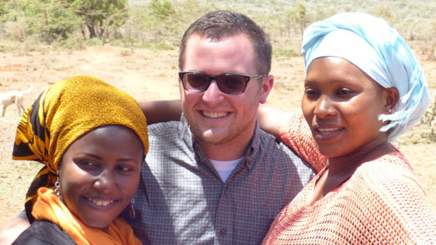 IVHQ Tanzania coordinator Colin at the East Africa Program swap