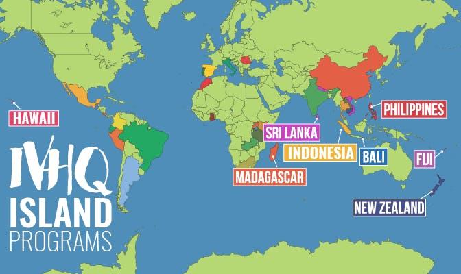 Island Vacation Volunteer Programs With IVHQ